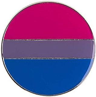 COLORFULTEA Genderqueer Pride Rainbow Flag Rozet Metal Chapas Metalicas Pins Icona Zaino Spilla per Regalo