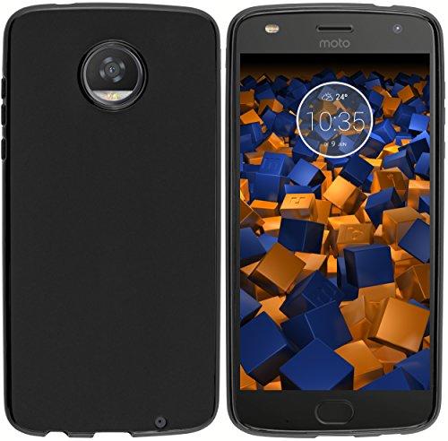 mumbi Hülle kompatibel mit Lenovo Moto Z2 Play Handy Case Handyhülle, schwarz