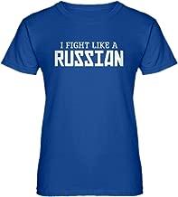 Indica Plateau I Fight Like a Russian Womens T-Shirt