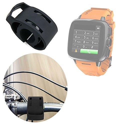 DURAGADGET Soporte para Bicicletas Ideal para Reloj Intex IRist - WatchPhone | Ksix BXSW02 | BXSW01 | Excelvan K88H | Garmin Forerunner 910XT