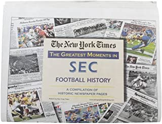 New York Times Greatest Moments in SEC Football History