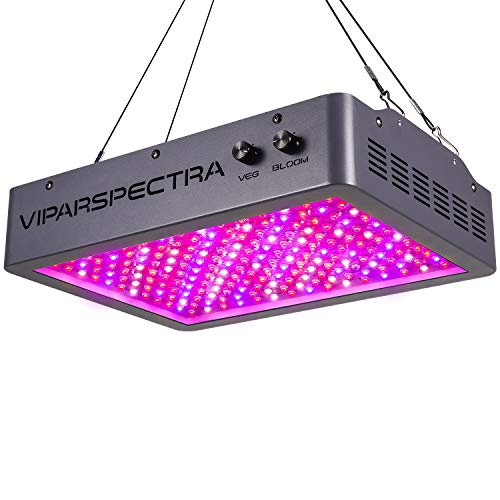Grow Light, VIPARSPECTRA Newest Dimmable 2000W LED Grow Light, with Bloom and Veg Dimmer, Dual Chips Full Spectrum LED Grow Lamp for Hydroponic Indoor Plants Veg and Flower(10W LEDs 200Pcs)