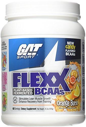 GAT Flexx BCAA's Orange Burst 60 Serving Supplement
