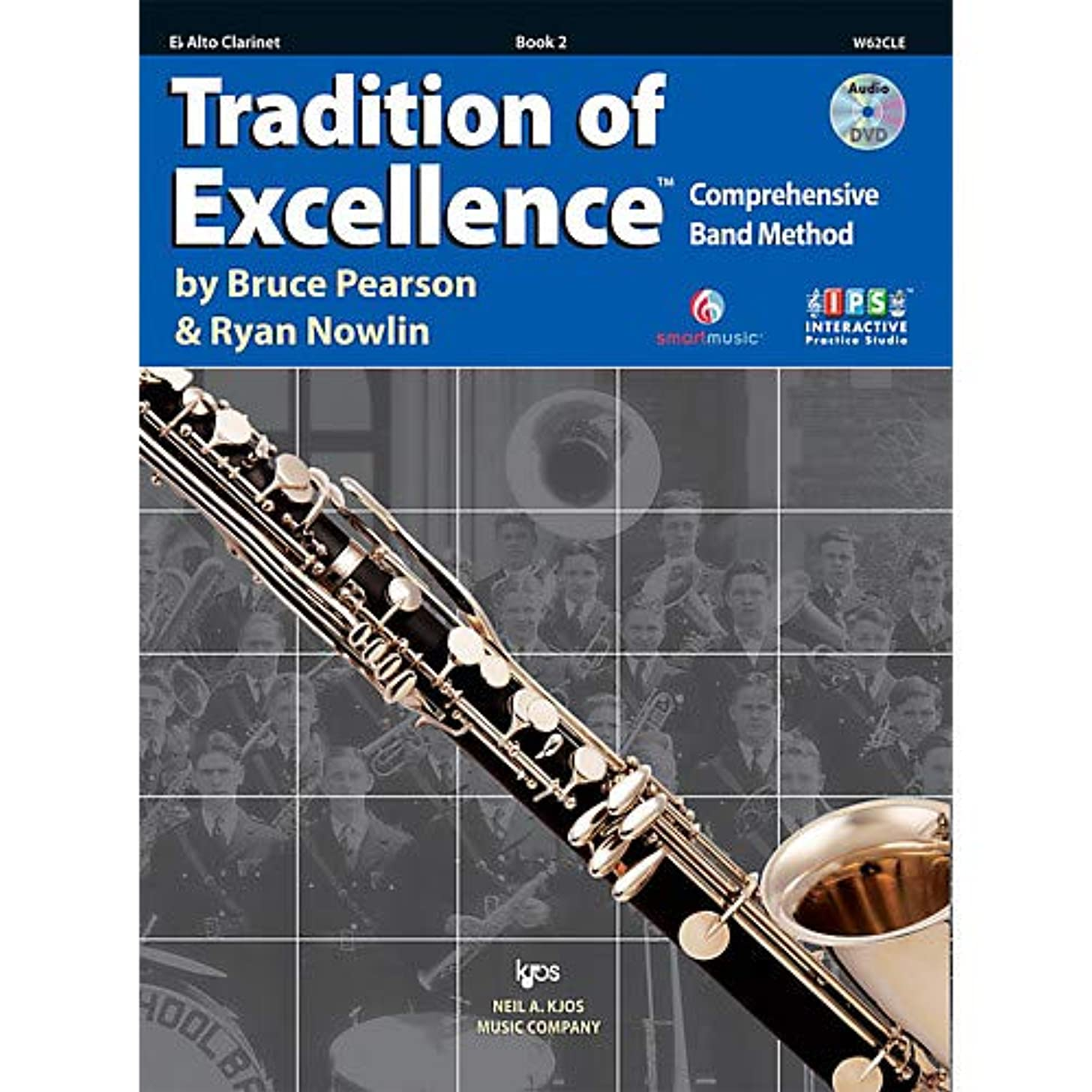 Tradition Of Excellence Book 2 for Alto Clarinet Pack of 3