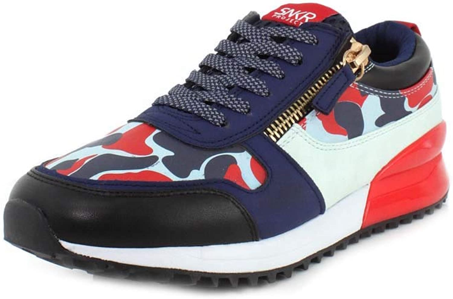 SNKR Project Mens Rodeo Sneaker Navy bluee