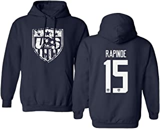 USA New Womens Soccer Rapinoe #15 National Team 2019 Hooded Sweatshirt