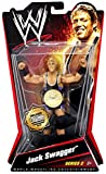 JACK SWAGGER 2010 WWE Series 2, 1/1000 Commemorative Championship Belts Chase Variant Action Figure by Mattel
