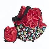 SmallToys Bingo Bag - Bingo Ball Design - Red