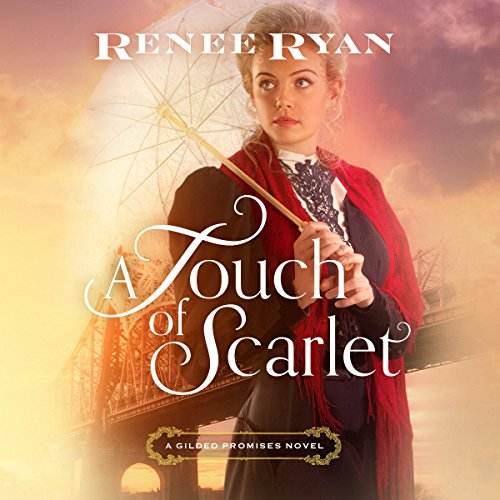 A Touch of Scarlet audiobook cover art