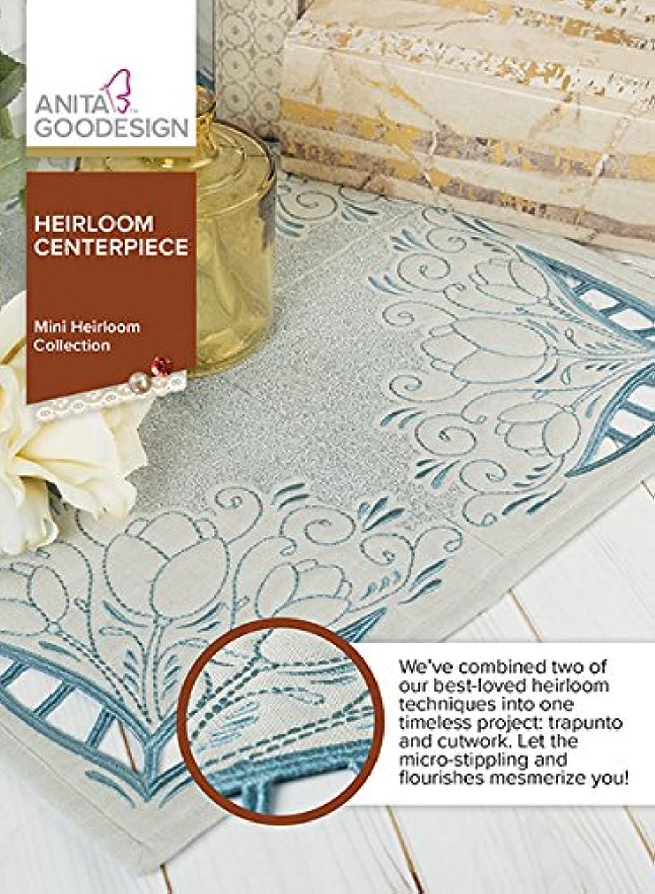 Anita Goodesign Embroidery Machine Designs CD Heirloom Centerpiece