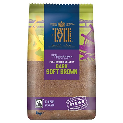 Tate & Lyle Fairtrade Dark Brown Sugar 1kg