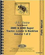Case 580D Super Tractor Loader Backhoe Parts Manual