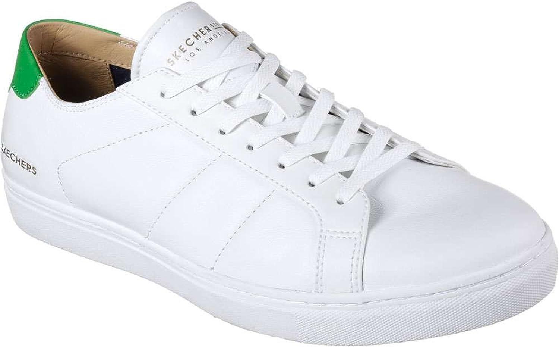 Skechers Men's Venice T-Kinane Fashion Sneakers White Green 10.5 D(M) US