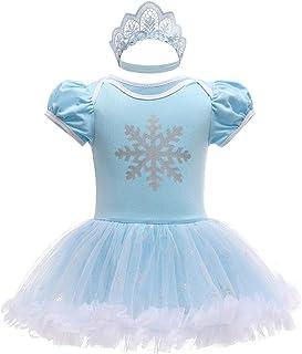 Lito Angels Baby Meisjes Prinses Onesie Kostuum Rompertje Romper Halloween VerJarendag Costumeren Met Hoofdband