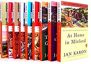 The Complete Mitford Series, in Nine Volumes by Jan Karon. Christian fiction. Mitford is the little town with the big heart. As this charming mountain village works its magic, you'll laugh, you'll cry, and you'll quickly make friends who feel like fa...