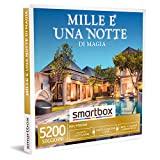 smartbox - Cofanetto Regalo - Mille e Una Notte di magia - Idee Regalo - 1 o 2 Notti con Colazione o 1 Notte con Colazione e Cena o Momento Relax per 2 Persone