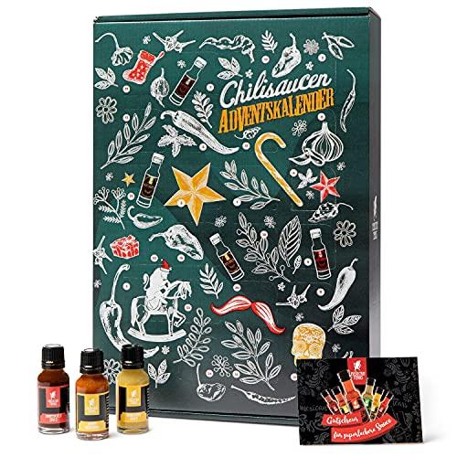 Mexican Tears - Scharfe Sauce Adventskalender mit 24 unterschiedlichen...