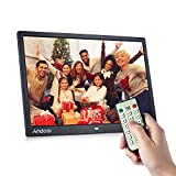 Andoer Digital Photo Frame 15 Inch 1080P LED HD Wide Screen with Infrared