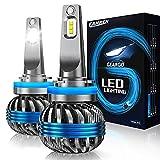 Fahren Geargo H11/H9/H8 LED Headlight Bulb, 10000 LM Low Beam Headlight Bulb 60W LED Headlights Conversion Kit 6500K Cool White