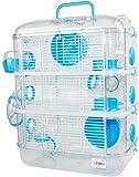 DZL- Cage pour Hamster en Plastique Rigide, Cage de Hamster, Cage Hamster, cabane...
