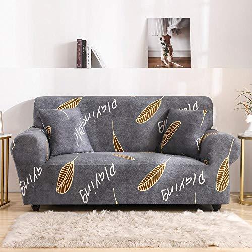 Fundas elásticas Funda de sofá elástica para Sala de Estar Funda de sofá seccional Funda de sillón en Forma de L A28 3 plazas