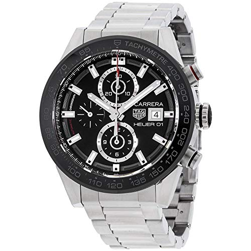 Carrera Caliber Heuer 01 43mm Reloj para hombre CAR201Z.BA0714