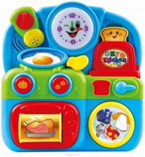 Playgo Act & Sound Out Busy Kitchen B/O, Multi-Colour