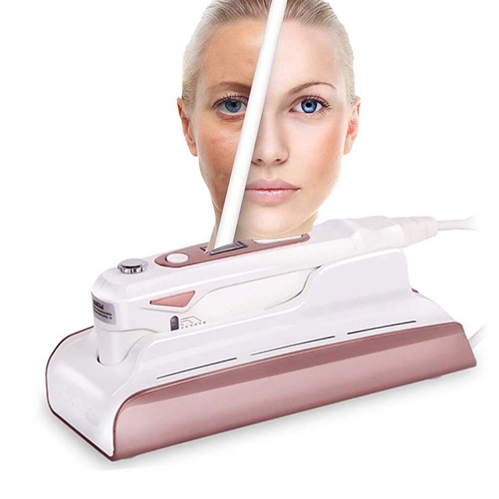 陪審受け取る参照顔の調子を整える装置HIFUホームユースポータブルしわ除去高周波フェイシャルマシン用肌の若返りアンチエイジングファーミングリフティングスキンケア
