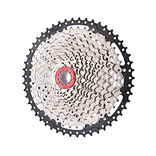 XCSM MTB Bike 12 velocità 11-50T 11-46T Cassette Ultralight Steel Mountain Bike 50T 46T Pignone A Ruota Libera Parti di Biciclette HG Hub (Size : 7 12s50t BK-SR 668g)