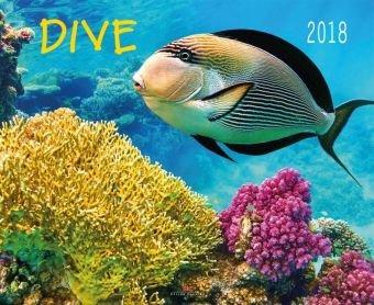 Dive - Kalender 2018 - Delius-Klasing-Verlag - Wandkalender - 56 cm x 45,5 cm - Tauchkalender