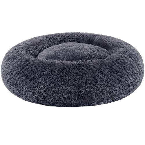 Donut-Shaped Pet Bed