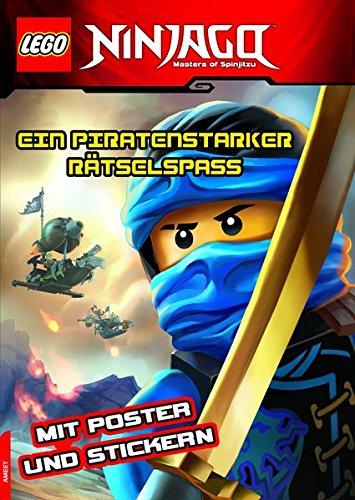 LEGO® NINJAGO™ Ein piratenstarker Rätselspass: mit Stickern und Poster