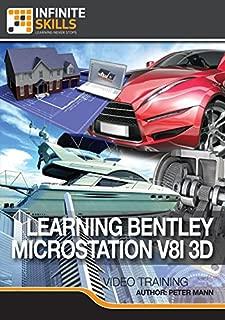 Bentley MicroStation V8i 3D [Online Code]