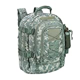 40L Outdoor Expandable Tactical Backpack Military Sport Camping Hiking Trekking Bag (ACU 08001A) by...