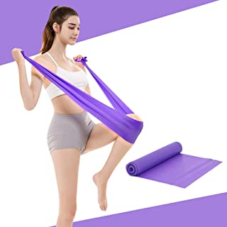 Amperware Resistance Band Sets,Upgrade 150mm Stretching Exercise Fitness Band None Smell Elastic Bands Yoga Gym Body Exercising Straps