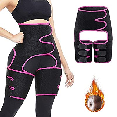 Amazon - 60% Off on 3 in 1 Waist Trainer Support Belt Hip Raise Waist and Thigh Butt LifterTrimmer
