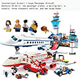 GXT Modelos de niño y niña Rompecabezas de Montaje de aeronaves Puzzles y la inserción de pasaje de Gran tamaño de Montaje de Aviones Concentración (Color : Airport Aircraft)