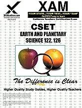 CSET Earth and Planetary Science 122, 126 (XAM CSET)