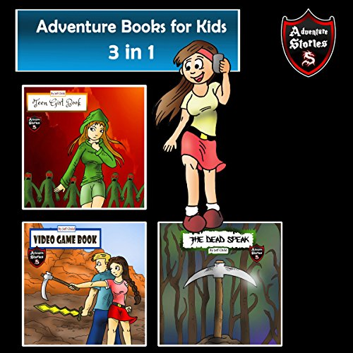 Adventure Books for Kids: Book of Short Kids Tales and Adventures audiobook cover art