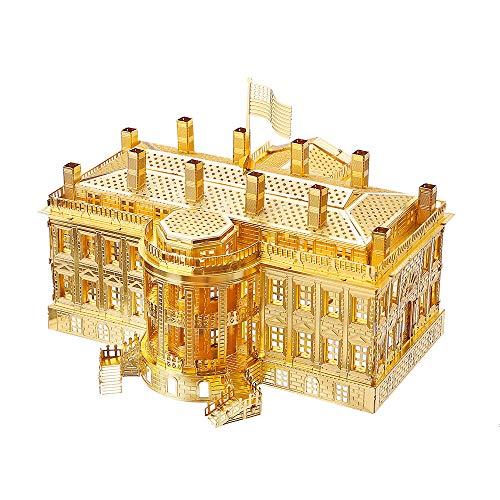 Piececool 3D Metal Model Kits-White House, DIY 3D...