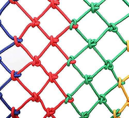 QNDYD net Red Protectora Tejida para Mascotas Red De Seguridad De Nailon Cuerda Tejida A Mano Red De Juegos Red De Seguridad para El Hogar De 6 Mm * 8 Cm(Size:2 * 2m (7 * 7ft))