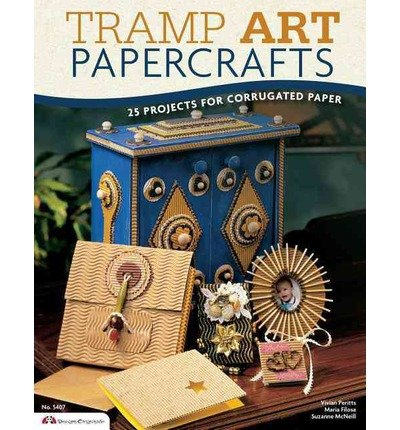 Tramp Art Papercrafts: 25 Projects for Corrugated Paper (Design Originals) (Paperback) - Common