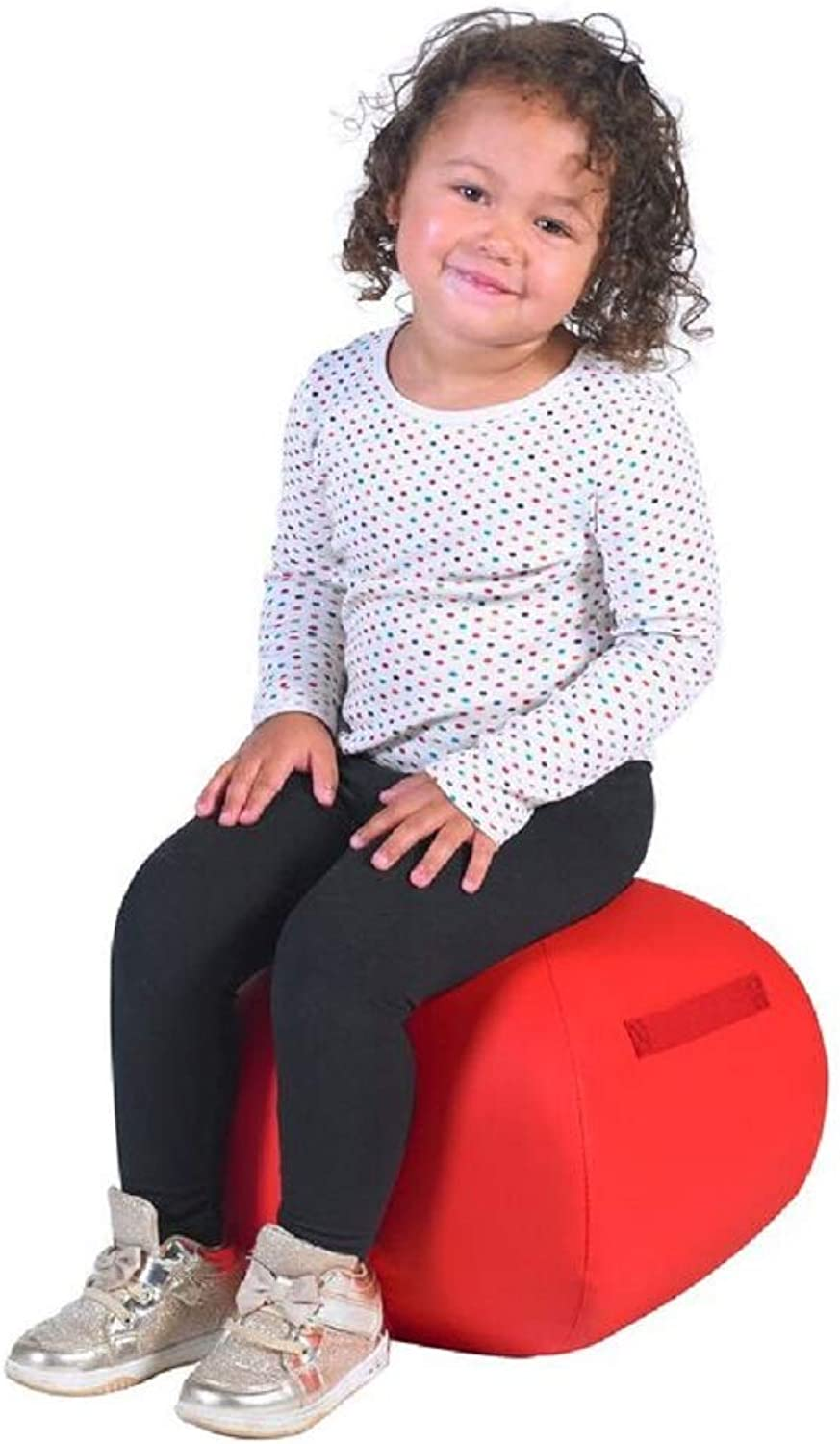 Angeles RED 12  Turtle Seat Lightweight Soft Classroom Seat