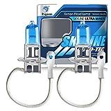 H3 12V 55W 5000K Bombillas Halógenas Lámpara de Xenón Súper Blancas de Alta Potencia Para Lámpara de Automóvil - Luz Antiniebla Luz Diurna DRL (2 piezas)