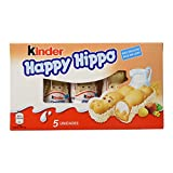 Kinder - happy hippo - barritas de chocolate - 5 unidades x 20. 7 g