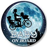【マグネット】ママチャリ☆ BABY IN CAR マグネット ステッカー BABY ON BOARD 赤ちゃんが乗ってます ベビーインカー(マグネット)