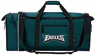 NFL Philadelphia Eagles NFL Steal Duffel, Green, Measures 28