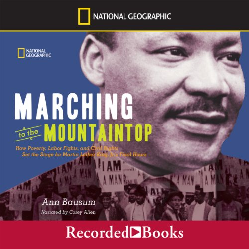 Marching to the Mountaintop audiobook cover art