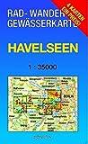 Havelseen-Set 1 - 4 1 : 35 000 Rad-, Wander- und Gewässerkarte: Mit den Karten: 'Havelseen 1: Brandenburg/Havel', 'Havelseen 2: Beetzsee - Ketzin', ... und 'Havelseen 4: Vom Wannsee zum Tegler See'
