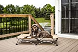 Carlson Pet Products Large Portable Pup Travel Pet Bed, Tan